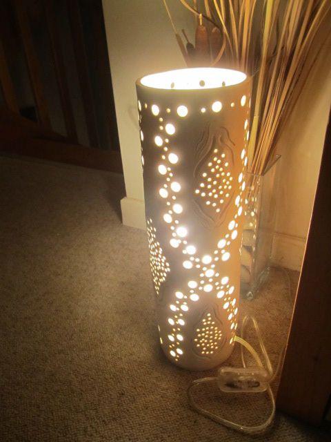 Lampe à trous - nuit