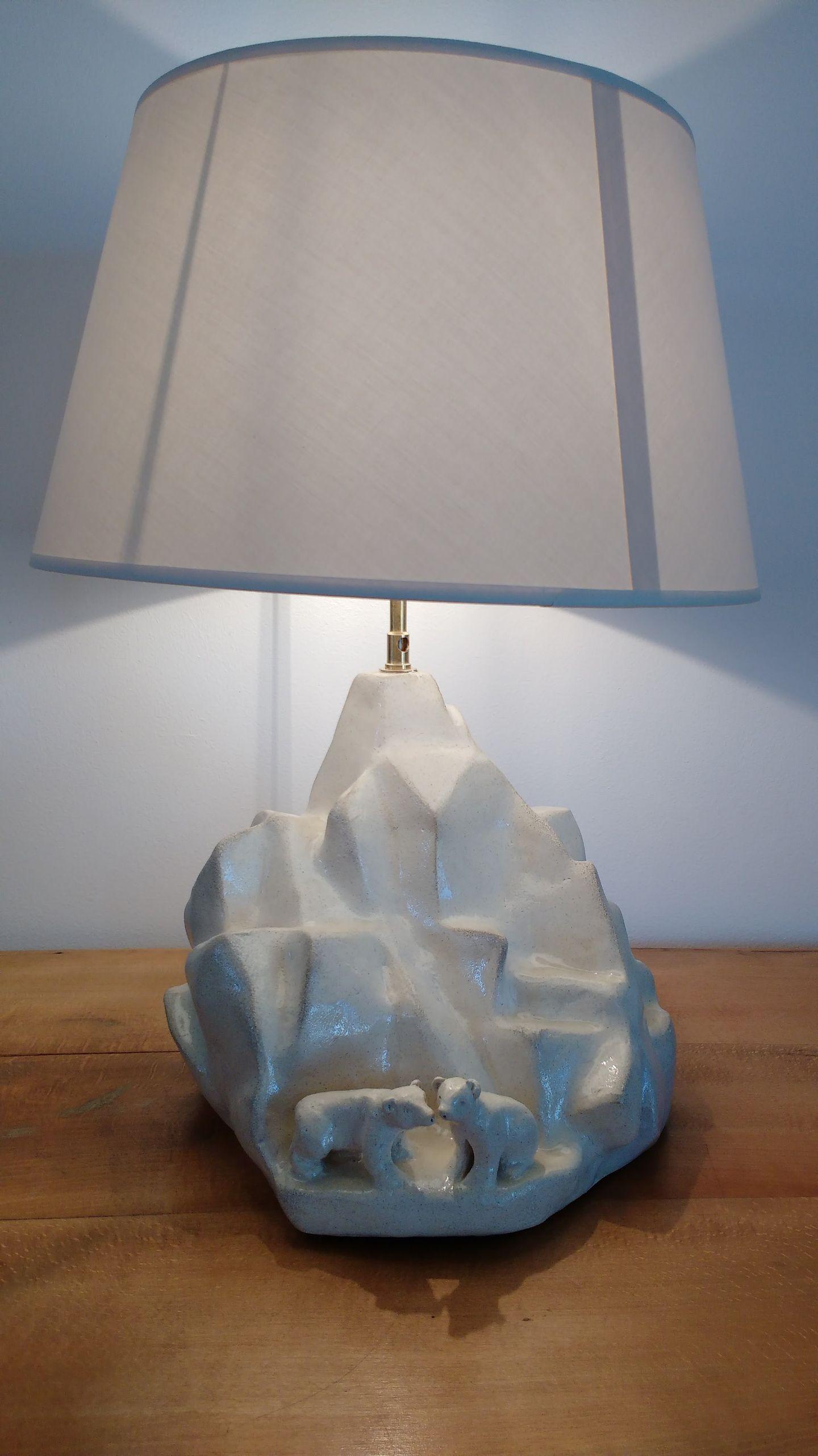 Lampe iceberg gres 1