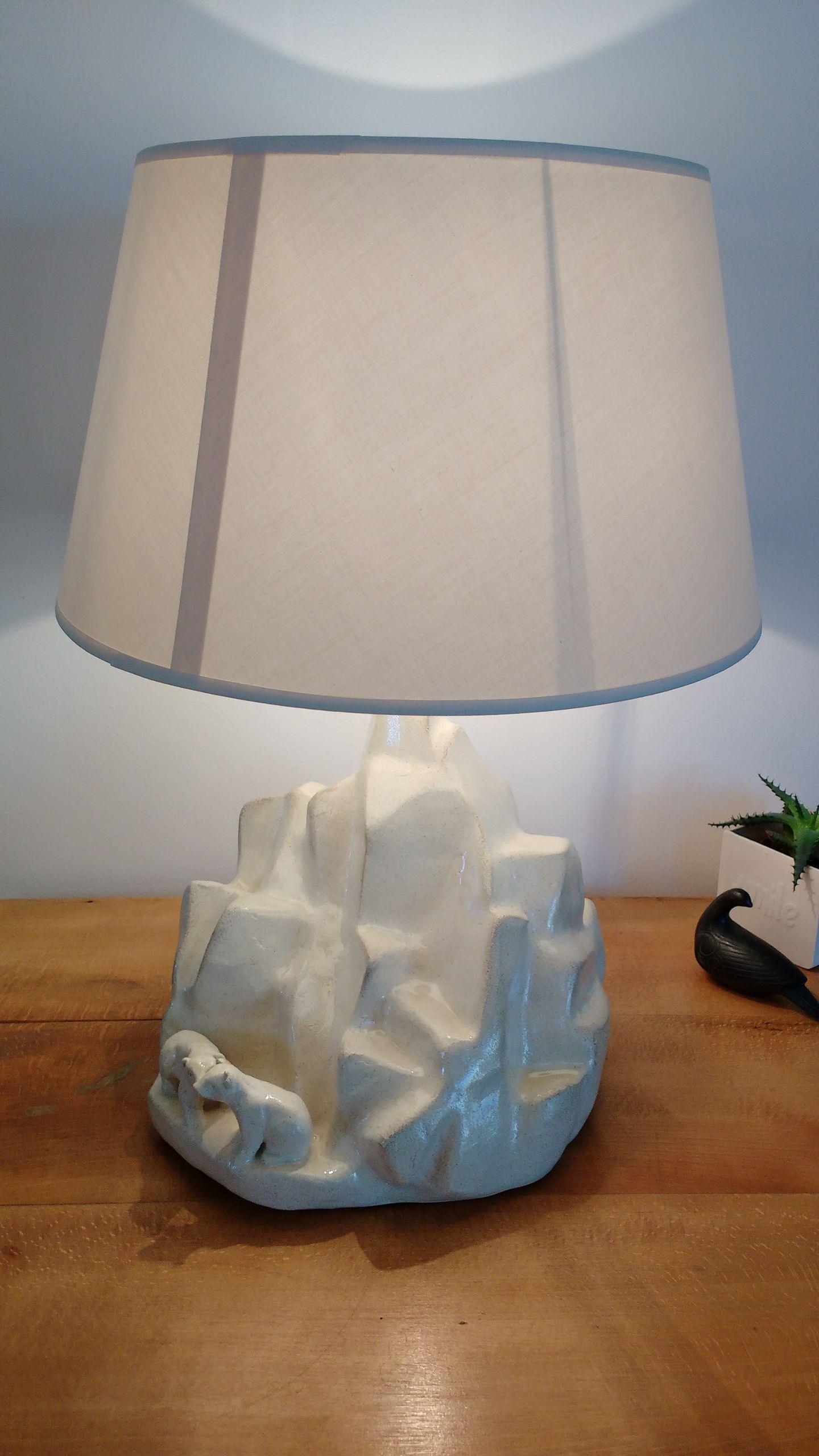 Lampe iceberg gres 2