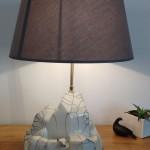 Lampe iceberg raku 1