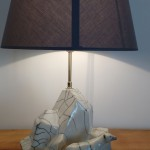 Lampe iceberg raku 2