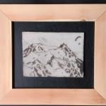 Mont Blanc aiguille midi