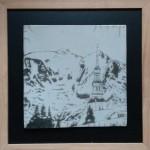 Mont Blanc depuis Combloux