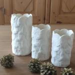 trois vases confettis